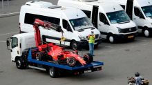 """Oh mein Gott"": Vettel baut heftigen Unfall"