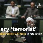 Iranian parliament labels entire U.S. military as terrorist