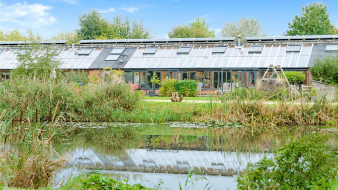 For sale: live off the grid in a self-sufficient eco home that comes with a ready-made community