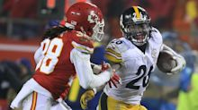 Le'Veon Bell sets playoff rushing record as Steelers beat Chiefs, advance to AFC title game