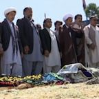 Families burying their children in wake of deadly bombing in Kabul