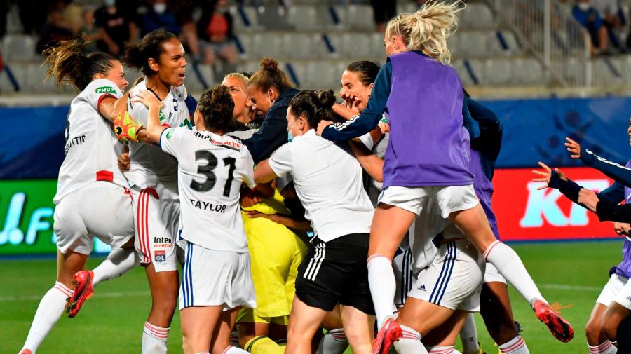 L'OL remporte la Coupe de France féminine