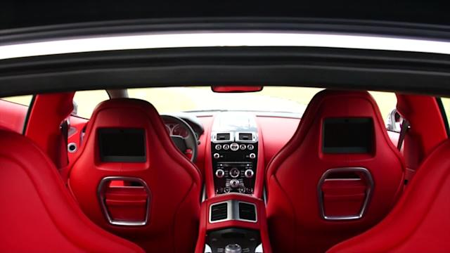 Aston Martin Rapide S: Motoramic TV