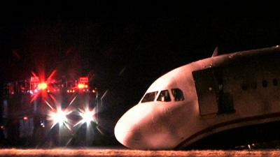 Landing Gear Collapse During Aborted Takeoff