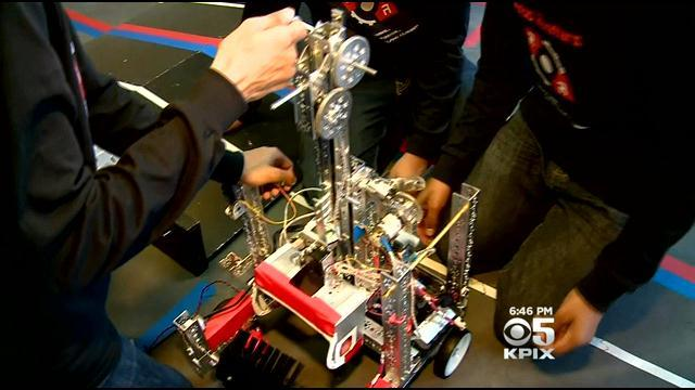 High School Students Gain Valuable Skills At Robotics Competition In Fremont