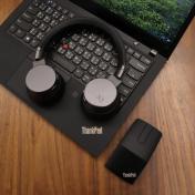 視訊會議就靠它們!ThinkPad X1 降噪音無線耳機與多功能滑鼠開箱試用報告