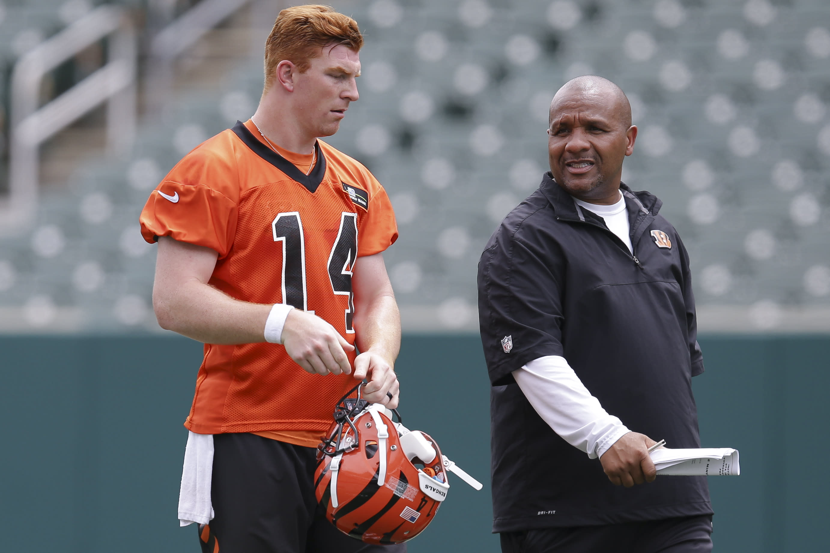 Andy Dalton booed during celebrity softball game in Cincinnati