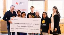 National Bank donates $300,000 to Right To Play in support of Indigenous youth