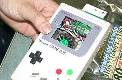 Complete PC gets shoved into a classic Gameboy