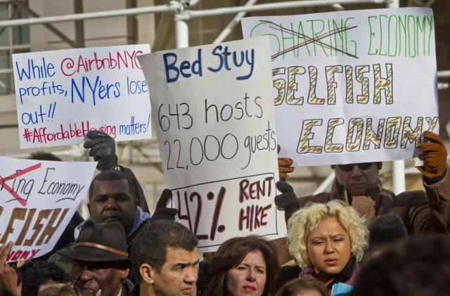 Half of Airbnb's New York City hosts are breaking the law