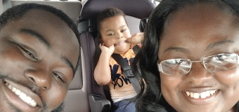 Nurse adopts boy she first met as a baby patient