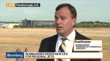 Bombardier's Cromer on Turnaround Plan, Airbus Partnership, China