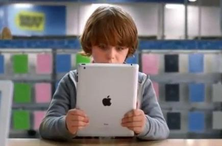 Best Buy 'Finding Santa' ad touts Apple products