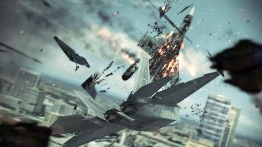 Ace Combat returns to consoles with the plane-wrecking Assault Horizon