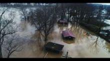 Mason Submerged During Ohio Valley Flooding