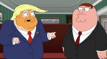 Fictional Donald Trump praises daughter Ivanka's 'beautiful rack' in controversial 'Family Guy' preview