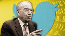 The deer died: Twitter musings from Chuck Grassley