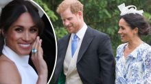 Meghan Markle recycles wedding day look