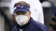 Bill Belichick looks like he hasn't slept, showered or changed clothes since the Seahawks loss