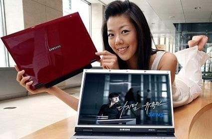 Samsung Q35 ultra-portable, now with Core 2 Duo