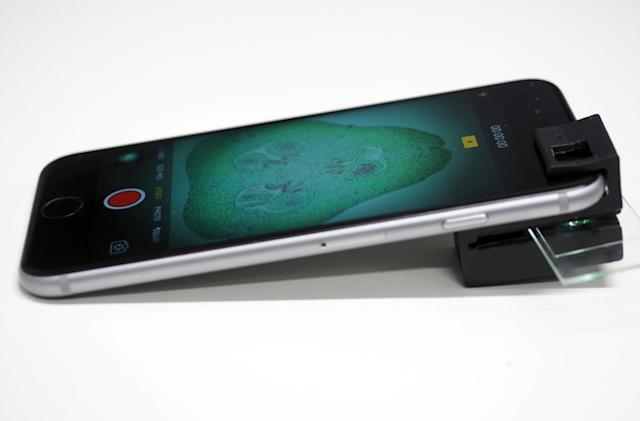 3D-printed smartphone microscope is good enough for scientists