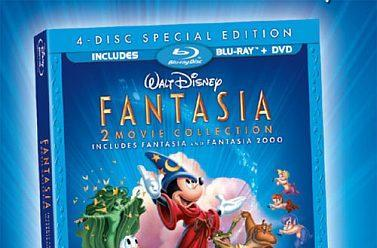 Disney reveals Fantasia / Fantasia 2000 Blu-ray pack, Beauty & the Beast special features