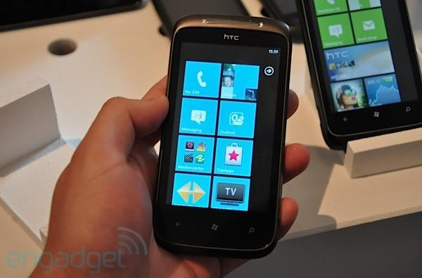 HTC 7 Mozart first hands-on (update: video!)