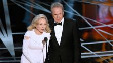 Oscars: Faye Dunaway, Warren Beatty expected to return to present Best Picture after flub