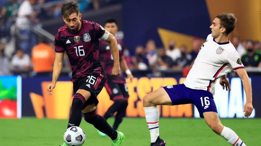 1-0. Estados Unidos, con gol de Robinson, recupera el trono de la Concacaf