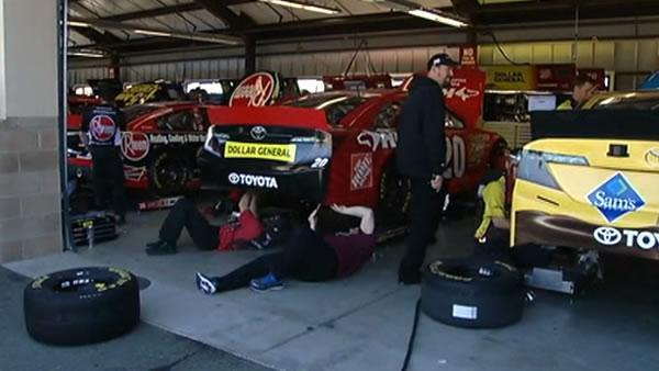 NASCAR race to bring fans, traffic to Sonoma