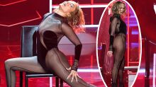 JLo stuns in sheer jumpsuit for steamy AMA performance