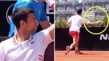 'Never learns': Novak Djokovic's 'disgusting' meltdown in Rome