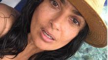 'Natural beauty' Salma Hayek, 51, turns heads with makeup-free, bikini-clad selfie
