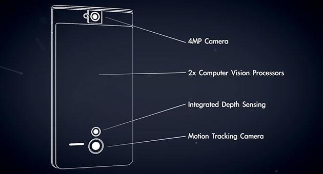 Google's Project Tango is a smartphone with sensors to map the world around you