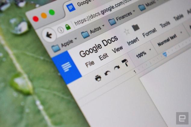 Google Docs uses AI to catch your grammar mistakes