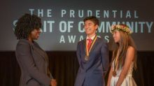 Two Hawaii youth honored for volunteerism at national award ceremony in Washington, D.C.
