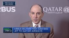 Airbus delivers first A350-1000 jet to Qatar Airways