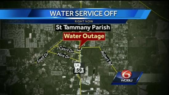 St. Tammany to issue boil water advisory for community near Hwy 59