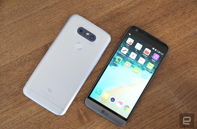 Where to buy LG's G5 in the UK