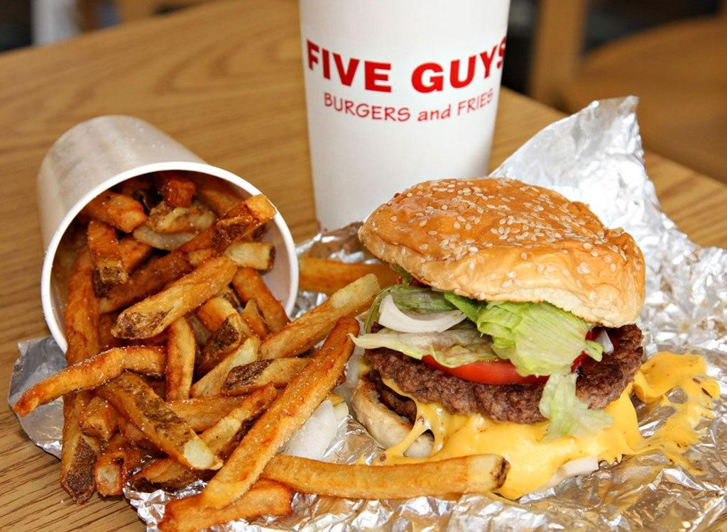 This Is Why Five Guys Burgers Are So Consistently Good