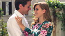 What you need to know about Princess Beatrice's stunning green engagement dress