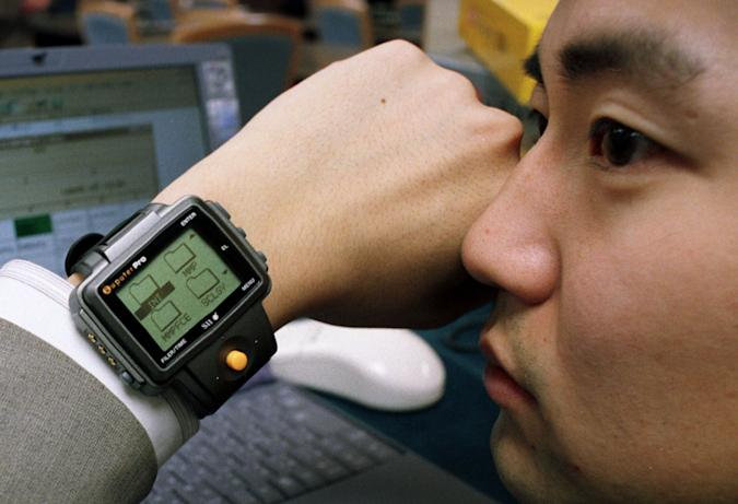 early smartwatch