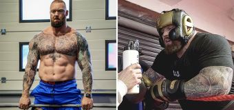 'The Mountain' shows off wild boxing transformation