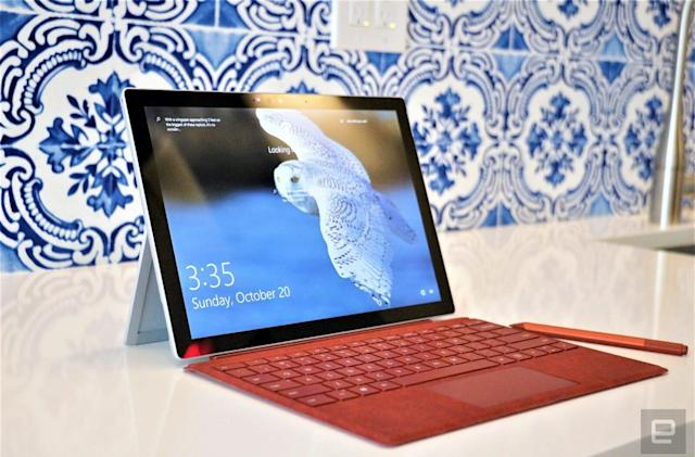 Microsoft's cloud and LinkedIn grow steadily, while Surface falters