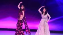 Pics: Kriti Sanon Has a Fangirl Moment, Shares Stage With Madhuri