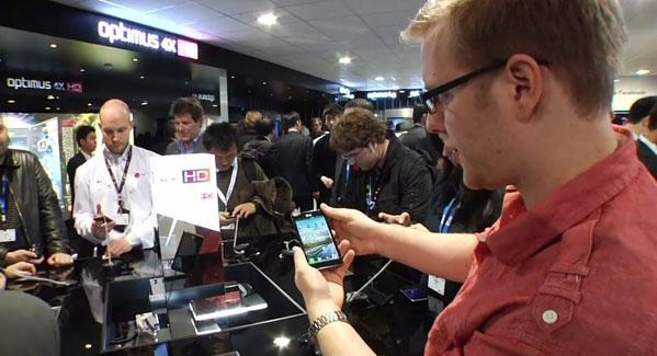 LG's MWC 2012 booth tour (video)