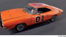 Yee haw: last surviving stunt Charger from Dukes of Hazzard for sale