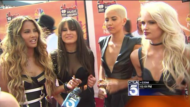 Stars Turn Out for iHeartRadio Music Awards