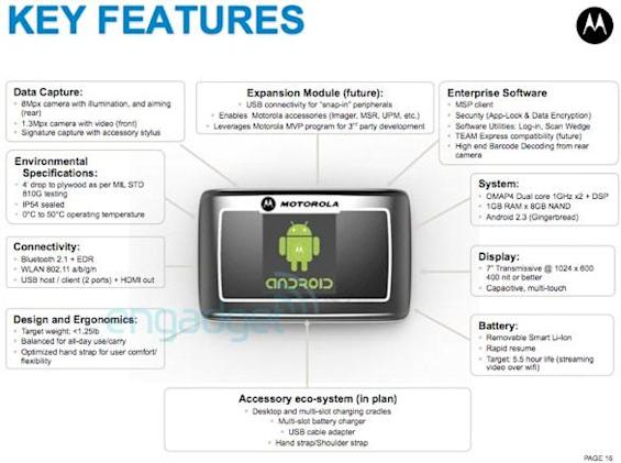 Motorola to begin beta testing rugged Android tablet, steps up enterprise efforts