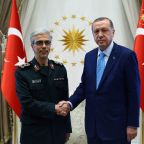 Turkey to boost military cooperation with Iran after army chief's visit